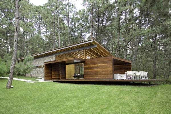 39 fachadas de casas de campo - Casas de una planta rusticas ...