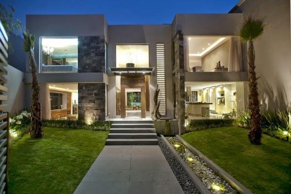 46 fachadas de sobrados modernos Fachadas de entradas de casas modernas