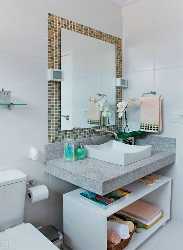 Banheiros Simples e Pequenos 30 fotos -> Banheiro Feminino Simples