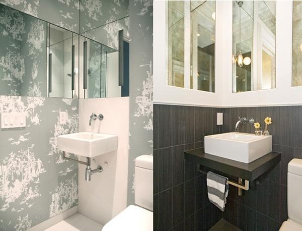 Banheiros Simples e Pequenos 30 fotos -> Banheiros Pequenos Simples E Decorados