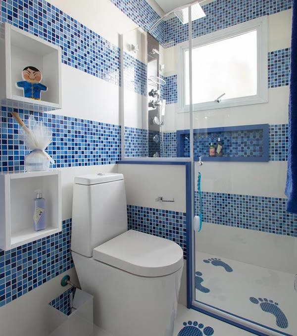 Banheiros Simples e Pequenos 30 fotos -> Banheiro Pequeno Simples Com Pastilhas