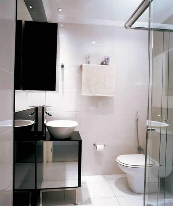 Banheiros Simples e Pequenos 30 fotos -> Banheiros Simples Fotos