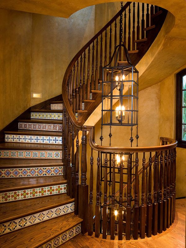 Escada de madeira 18