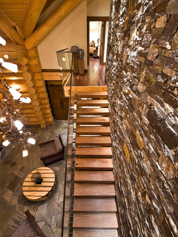Escada de madeira 23