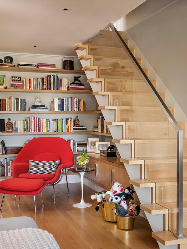 Escada de madeira 30