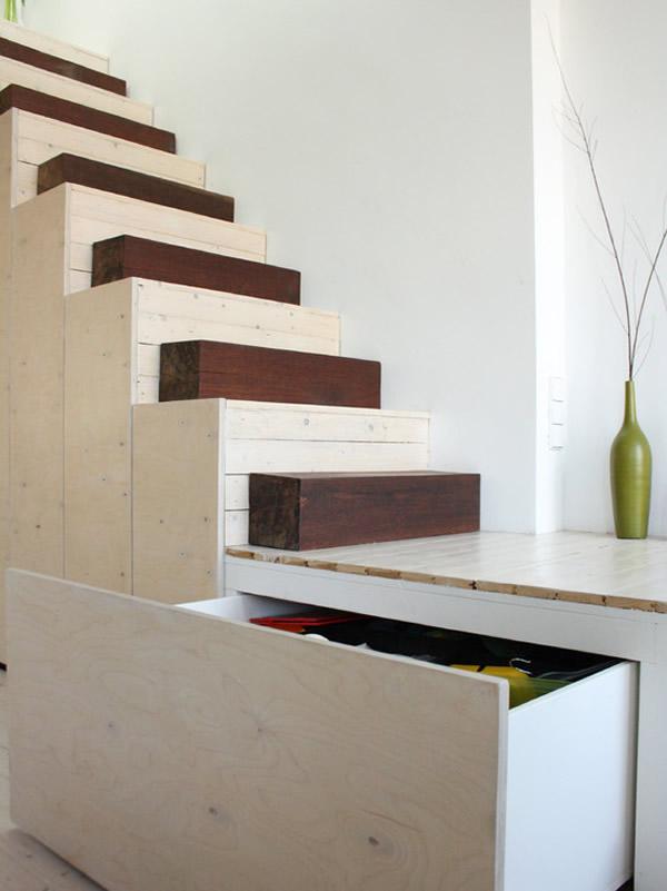 Escada de madeira 31