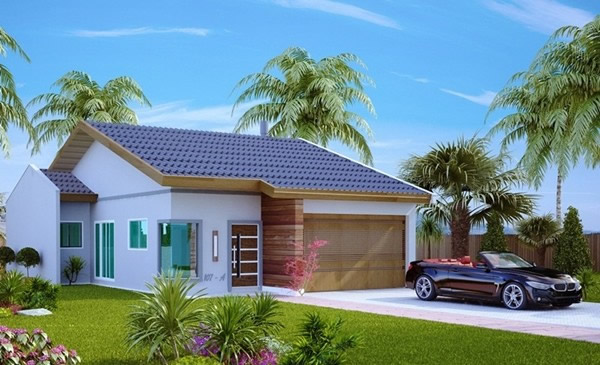 Fachadas ou frente de casas 30 modelos para lhe inspirar for Modelos de fachadas de casas