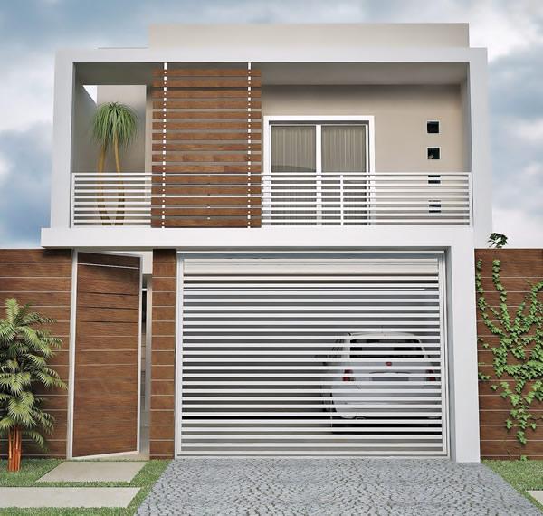 frente de casas pequenas e bonitas Frente De Casa Mais De 30 Modelos Lindos Para Inspirar