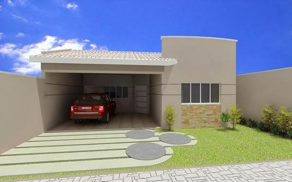 Fachadas ou frente de casas 30 modelos para lhe inspirar for Modelo de fachadas de viviendas