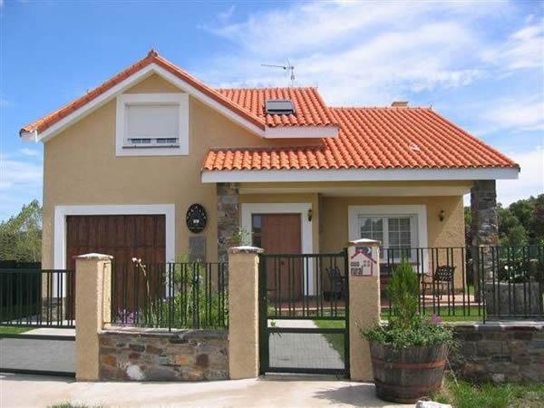 Fachadas ou frente de casas 30 modelos para lhe inspirar - Pintura para casa ...