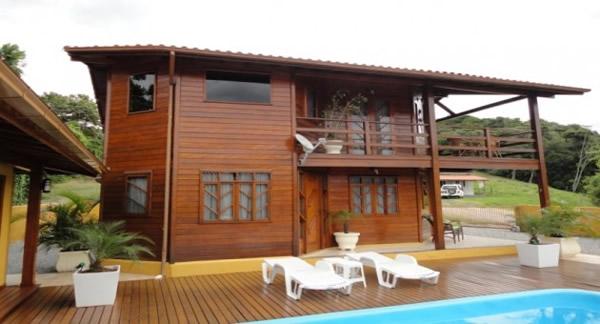Casas de Madeira Pré-Fabricada 2017