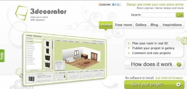 Simulador de Decoração de Ambientes