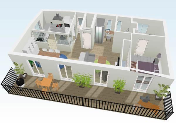 Plantas de casas prontas em 3d 30 modelos - Crear casas 3d ...