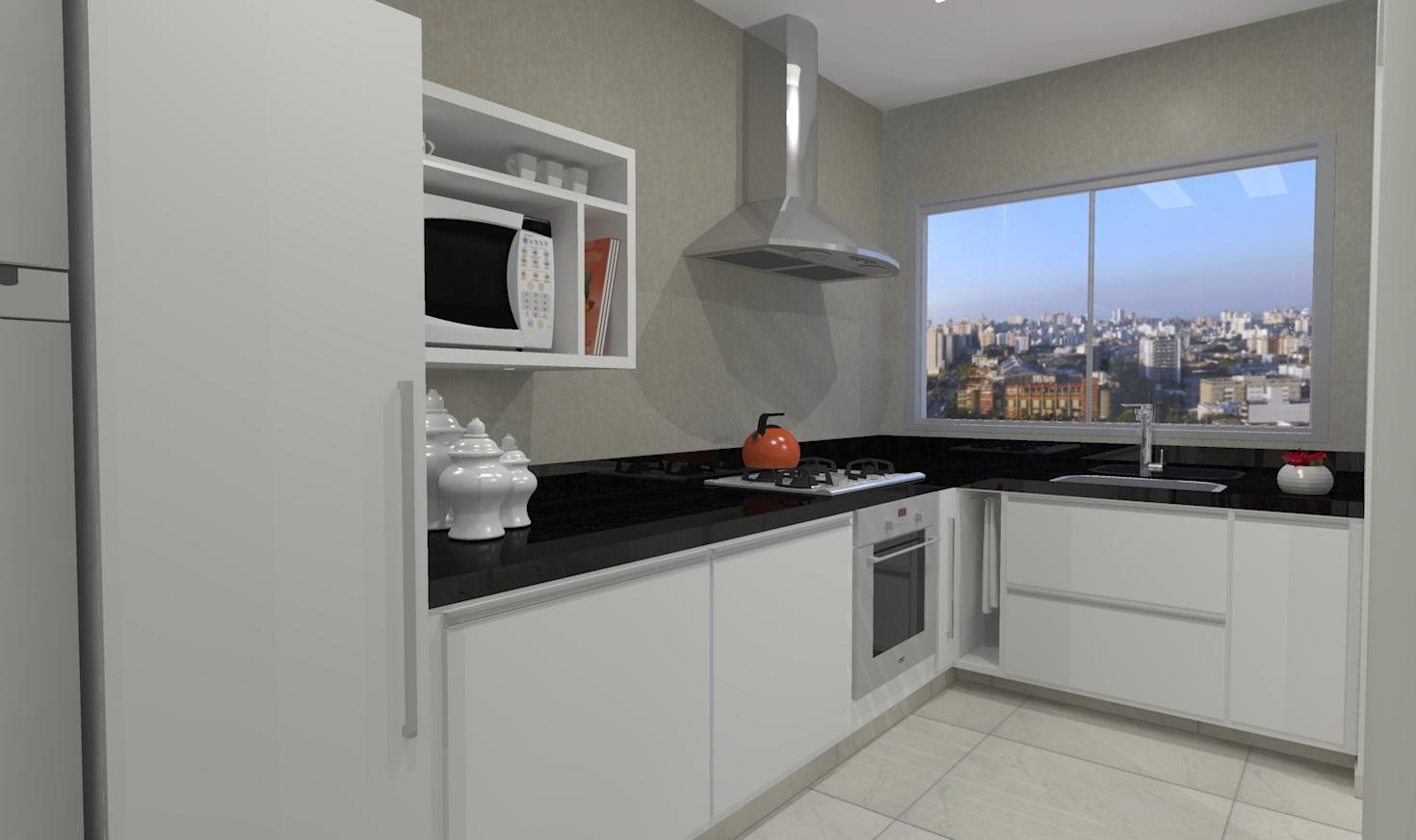 utilizadas para essa cozinha planejada pequena com estilo clássico #1C52AF 1470 872
