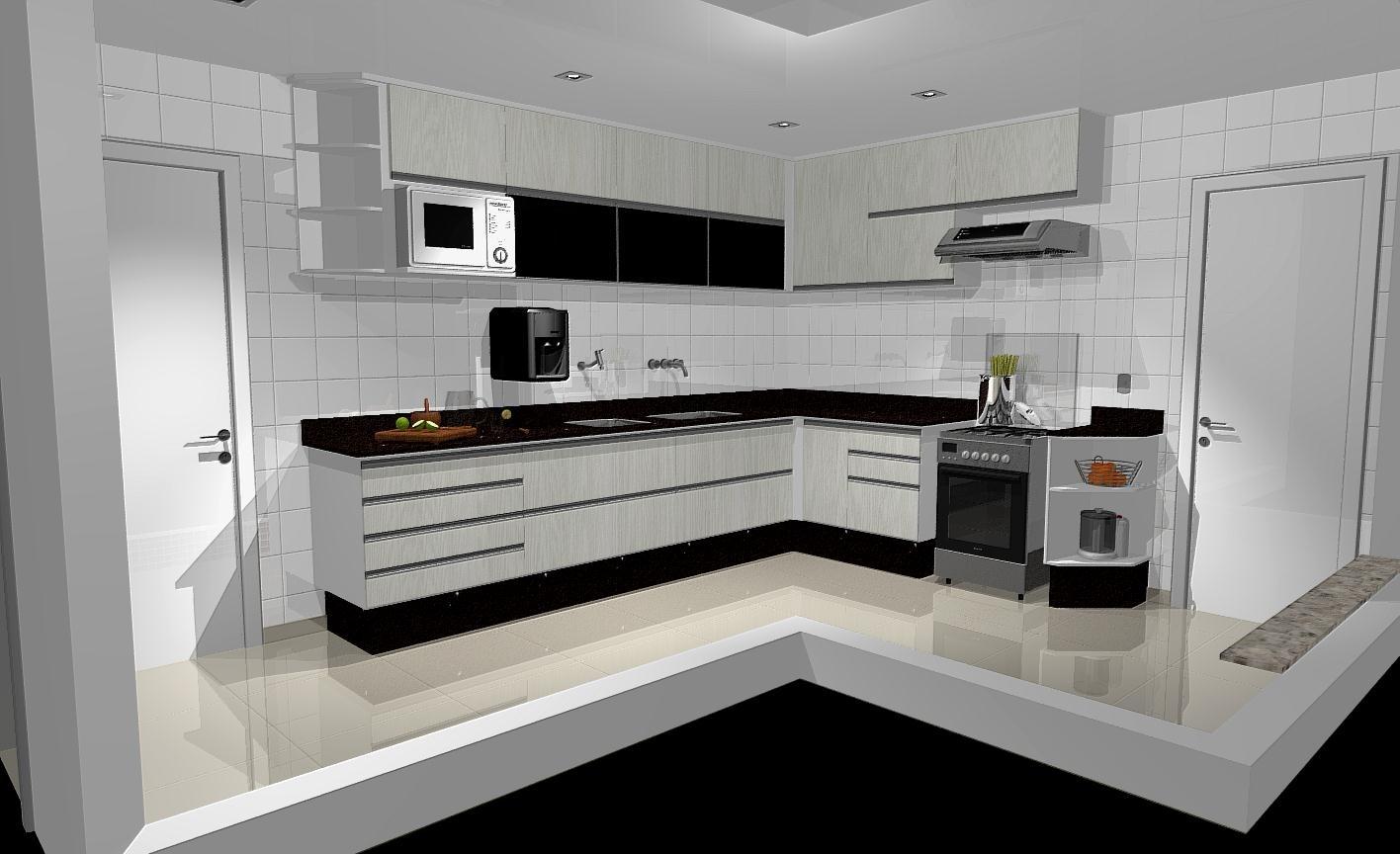 31 modelos incríveis de cozinhas planejadas pequenas #66442D 1416 864
