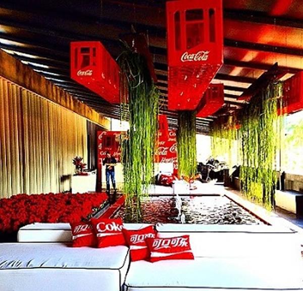 Decoração Coca 6