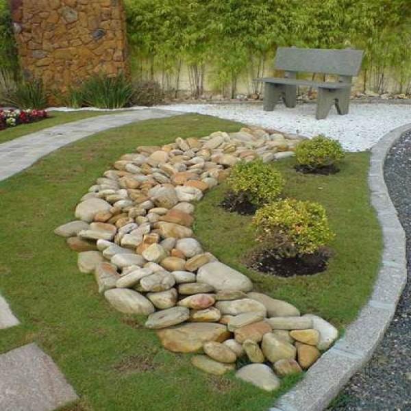 Super Como decorar jardins com pedras: Passo a Passo RE92