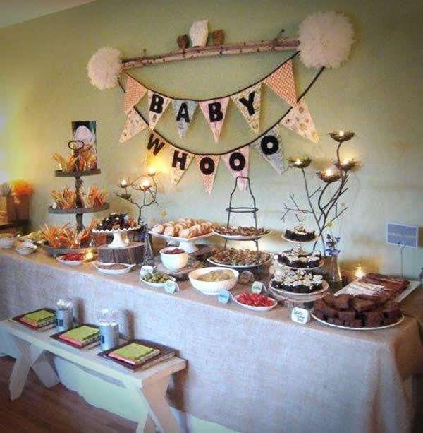 Mesa de ch de bebe como decorar - Tronas de mesa para bebes ...