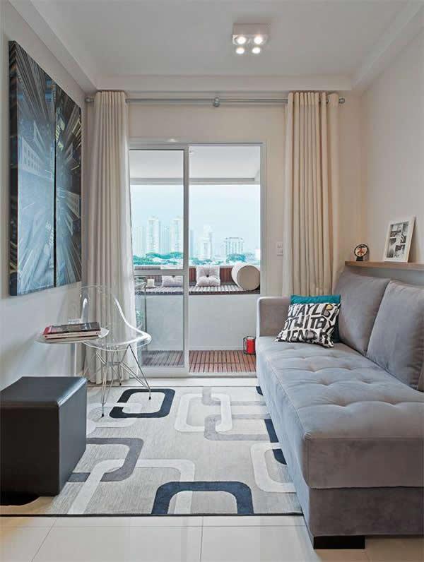 30 modelos incr veis de tapetes para sala for Tapetes para sala de estar 150x200