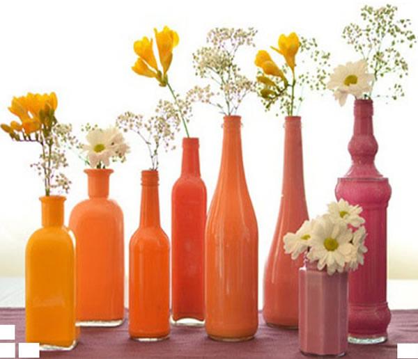 Decorações com produtos recicláveis