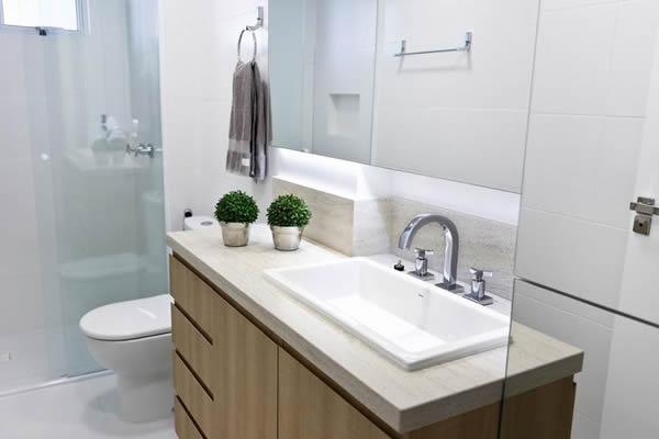27 modelos de armários de banheiro planejado -> Armario De Banheiro Avulso