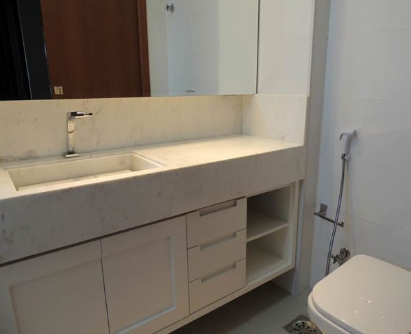 27 modelos de armários de banheiro planejado -> Mini Armario De Banheiro