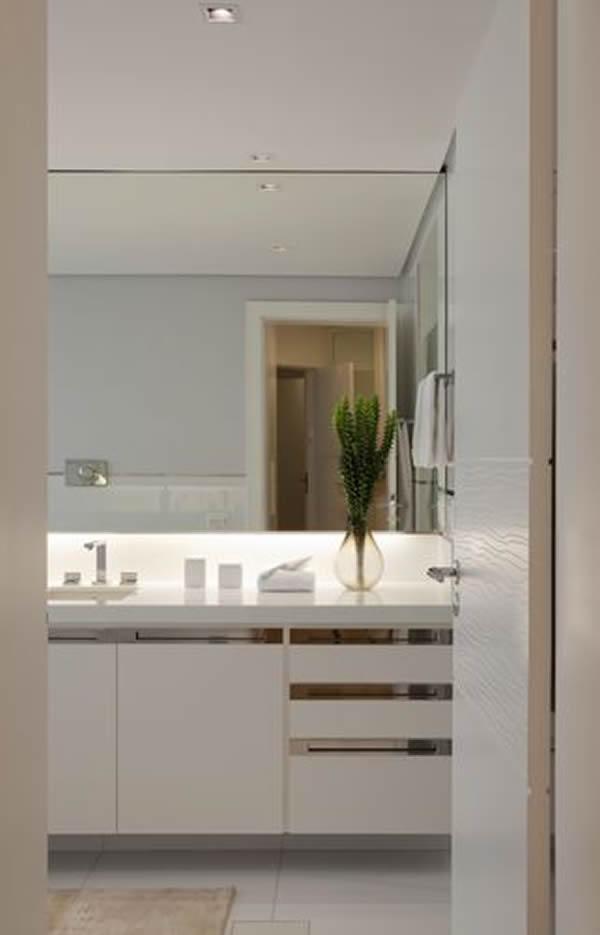 27 modelos de armários de banheiro planejado -> Armario De Banheiro Com A Pia