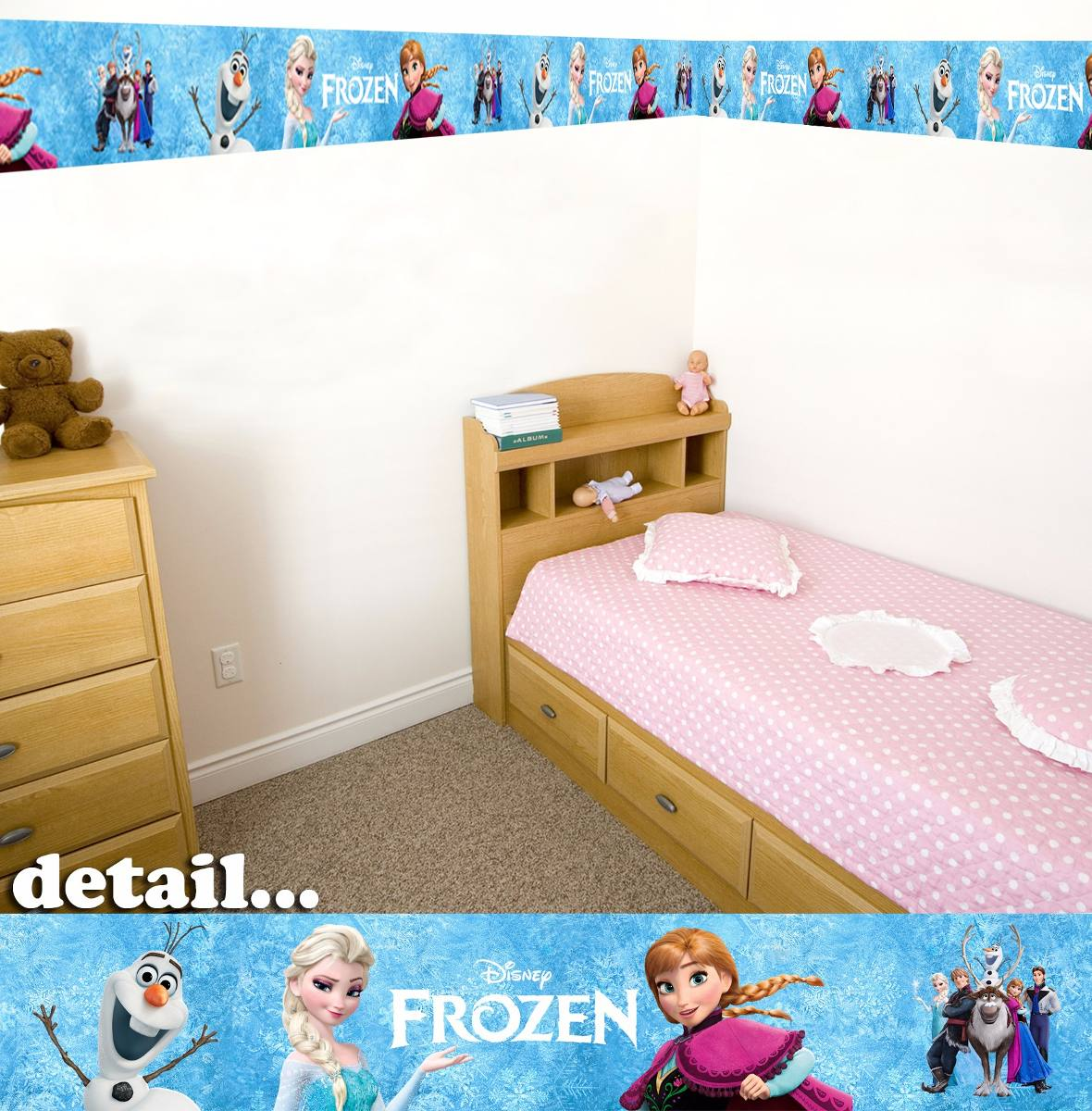 Quarto Decorado da Frozen