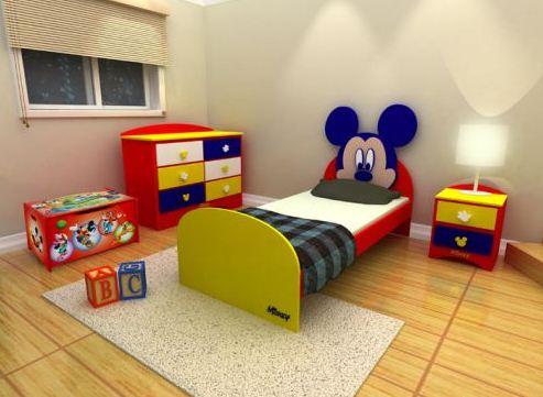 Quarto Mickey 3