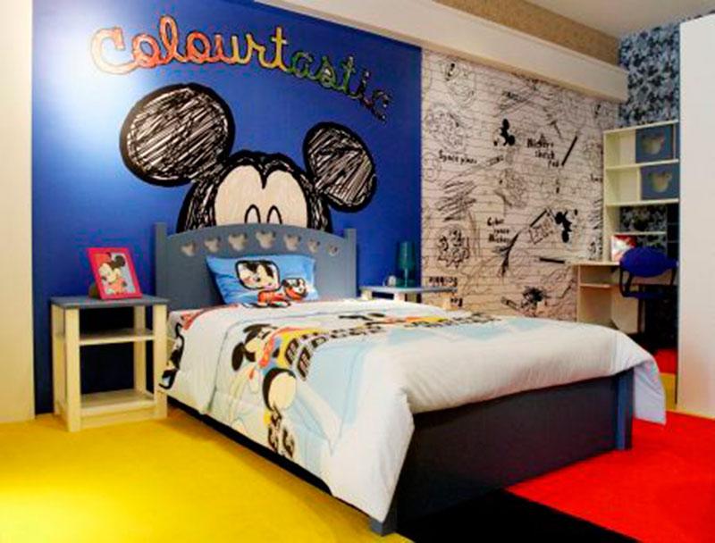 Quarto Mickey 7