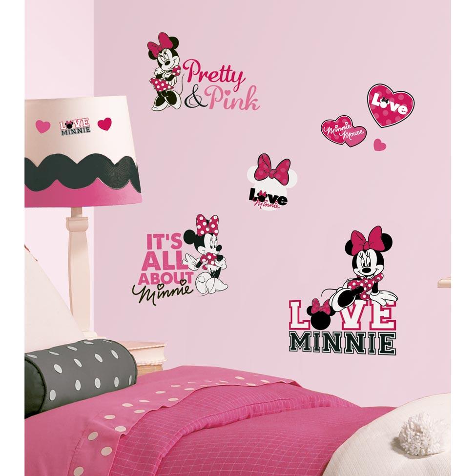 Quarto Decorado Da Minnie 40 Modelos ~ Desenhos Para Quarto De Adolescente