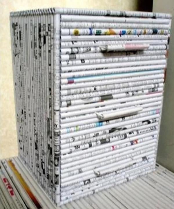 Artesanato de Jornal 1