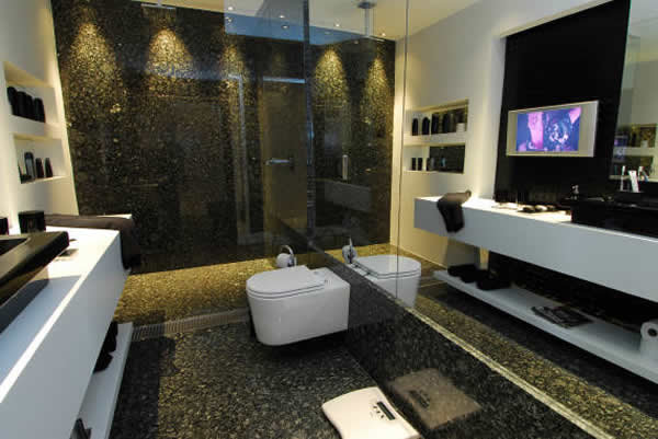10 tipos de granito para banheiro -> Decoracao Banheiro Granito