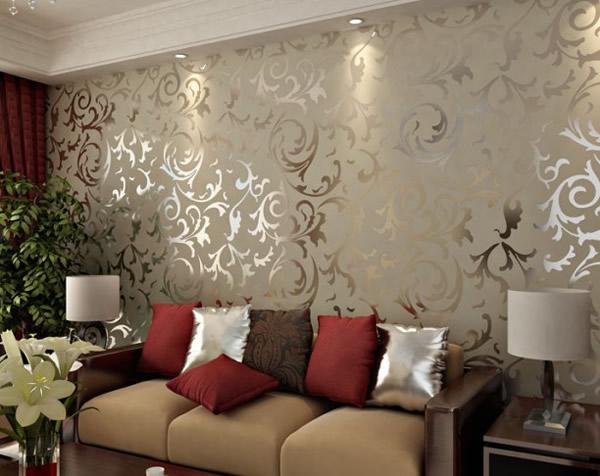 Tecido na parede como colocar 17 modelos - Papel de pared moderno ...