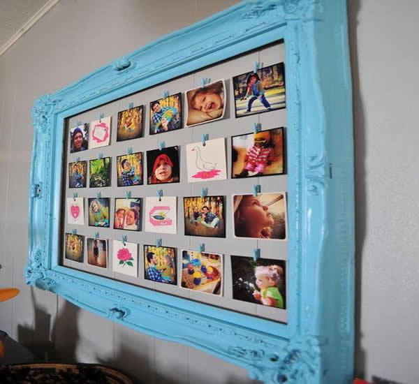 Mural de Fotos: Como fazer em Casa, passo a passo