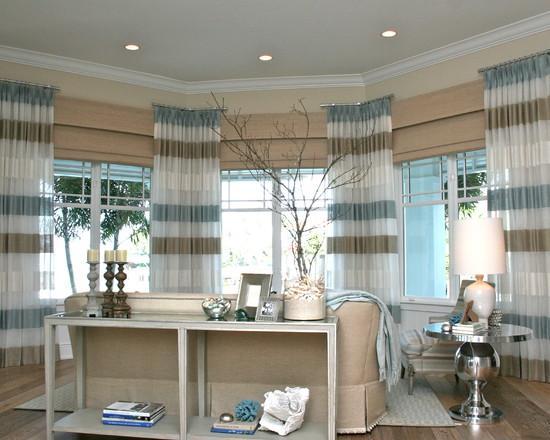 cortinas com listras