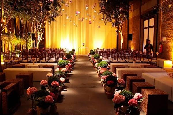 Decoração de Igreja Evangélica pasa casamento