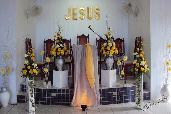 Suficiente Decoração de Festa de Igreja Evangélica: 5 dicas e 40 fotos HD41