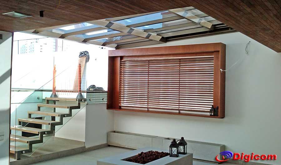 Um teto retrátil oferece nível de conforto inigualável.