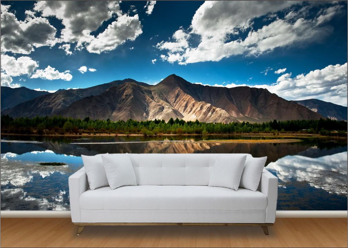 Papel de parede 3d modelos e onde comprar for Papel pintado para paredes 3d